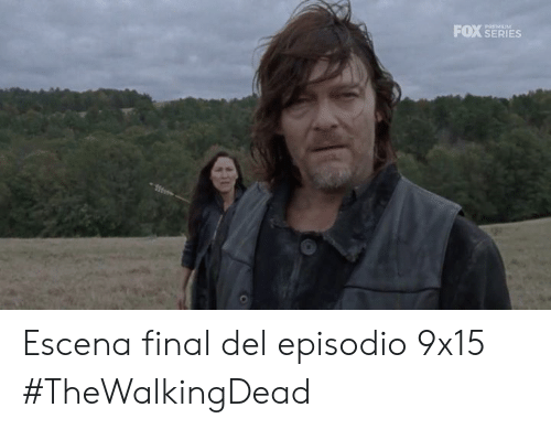 Memes, 🤖, and Fox: FOX SERIES  PREMIUM Escena final del episodio 9x15 #TheWalkingDead