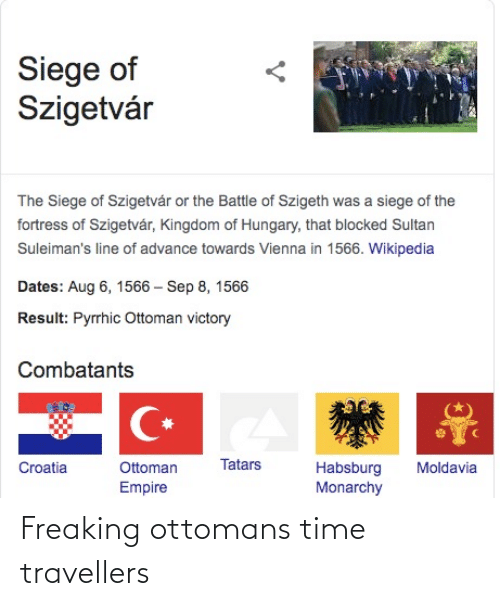 freaking: Freaking ottomans time travellers