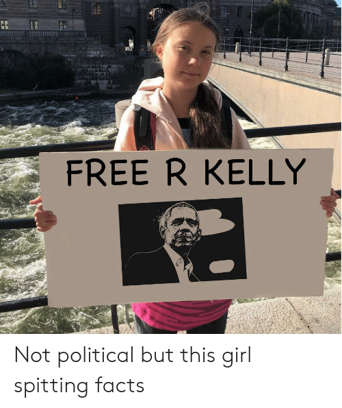 Facts, R. Kelly, and Free: FREE R KELLY Not political but this girl spitting facts