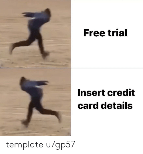 Free, Credit Card, and Template: Free trial  Insert credit  card details template u/gp57