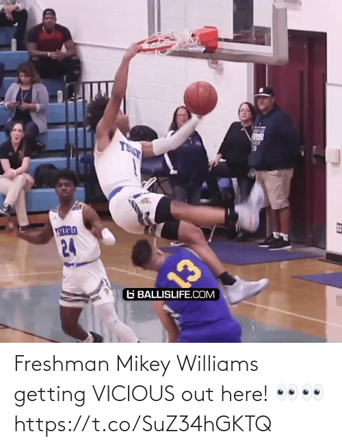 Out Here: Freshman Mikey Williams getting VICIOUS out here! 👀👀 https://t.co/SuZ34hGKTQ