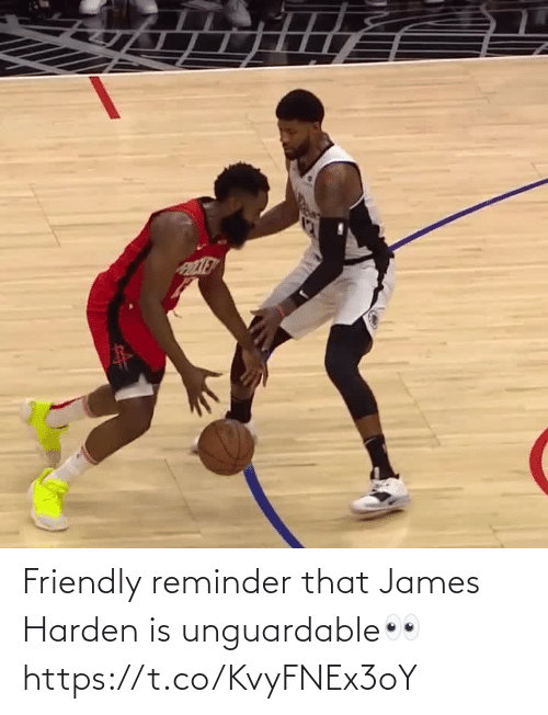 james: Friendly reminder that James Harden is unguardable👀 https://t.co/KvyFNEx3oY