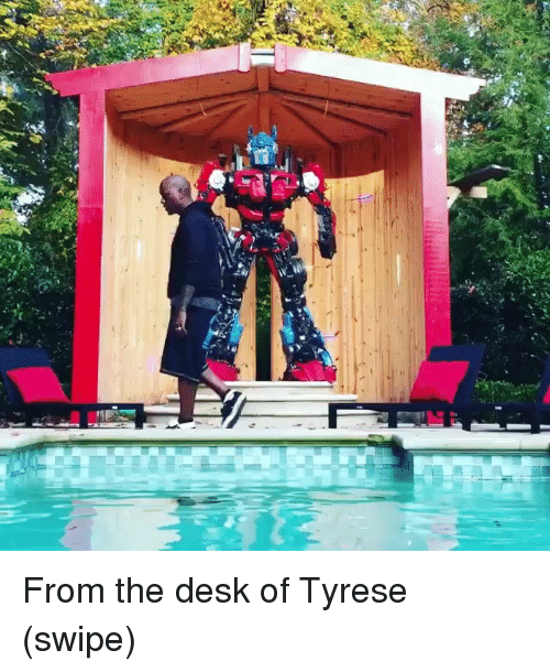 Tyrese: From the desk of Tyrese (swipe)