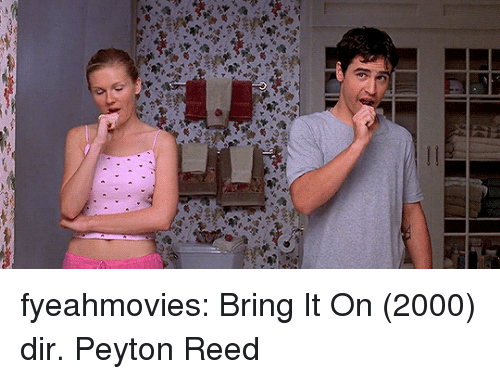Target, Tumblr, and Blog: fyeahmovies: Bring It On (2000) dir. Peyton Reed