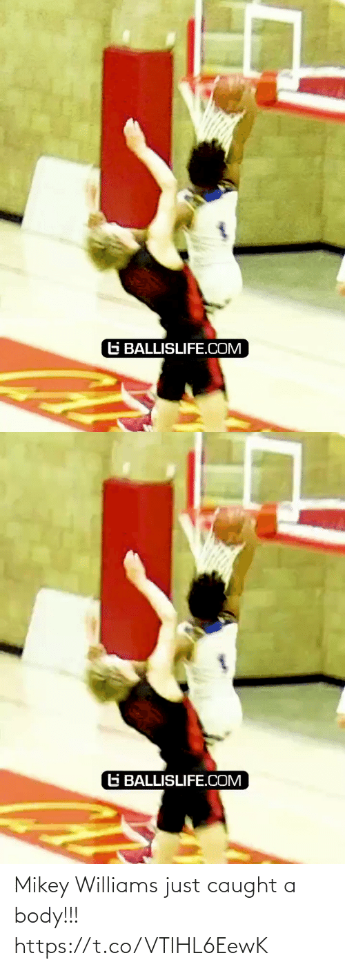 ballislife: G BALLISLIFE.COM   G BALLISLIFE.COM Mikey Williams just caught a body!!! https://t.co/VTIHL6EewK