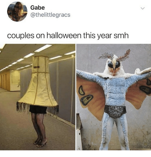Gabe: Gabe  @thelittlegracs  couples on halloween this year smh