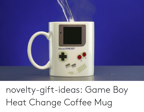 Coffee Mug: GAME 80r novelty-gift-ideas:  Game Boy Heat Change Coffee Mug