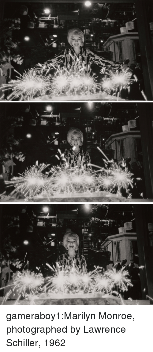 Tumblr, Blog, and Flickr: gameraboy1:Marilyn Monroe, photographed by Lawrence Schiller, 1962