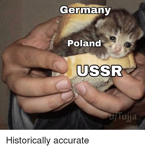 USSR: Germany  Poland  USSR  Tujja Historically accurate