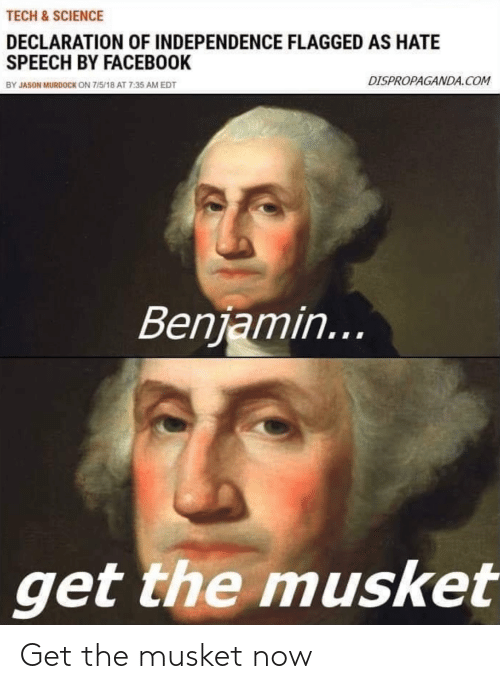 Get The: Get the musket now