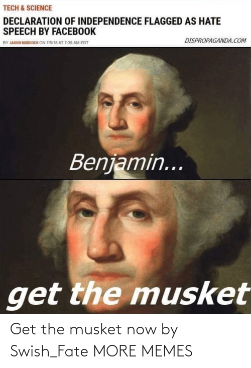 Get The: Get the musket now by Swish_Fate MORE MEMES