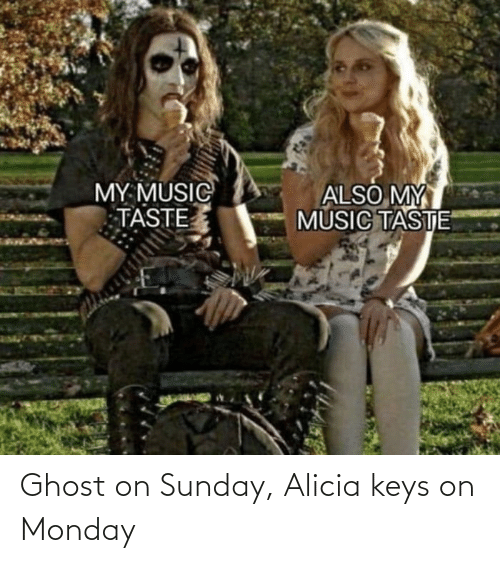 Alicia Keys: Ghost on Sunday, Alicia keys on Monday