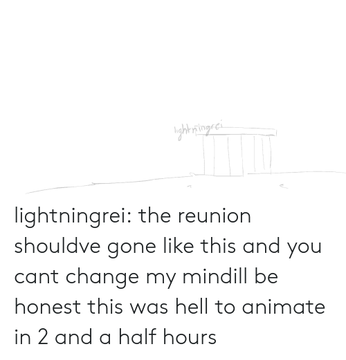 2 And A Half: ghring.ci lightningrei:  the reunion shouldve gone like this and you cant change my mindill be honest this was hell to animate in 2 and a half hours