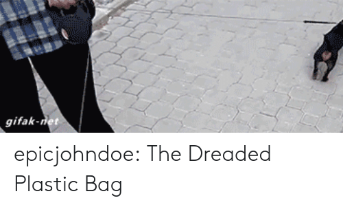 The Dreaded: gifak-net epicjohndoe:  The Dreaded Plastic Bag