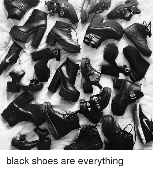 """Gipped: Gip""""  03  D black shoes are everything"""