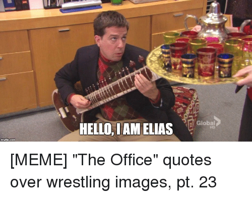 the office quotes: Global  HD  HELLO, I AM LAS  ingfip.com