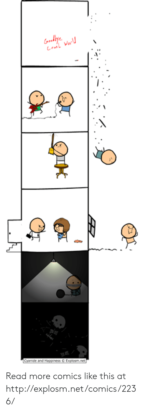 Cyanide and Happiness: Gody  La Warl  Cyanide and Happiness Explosm.net Read more comics like this at http://explosm.net/comics/2236/