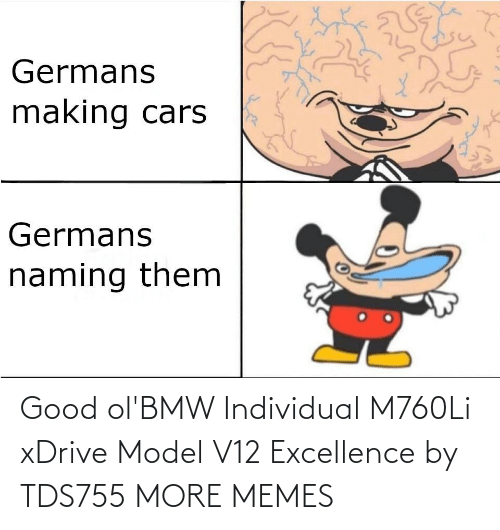 Individual: Good ol'BMW Individual M760Li xDrive Model V12 Excellence by TDS755 MORE MEMES