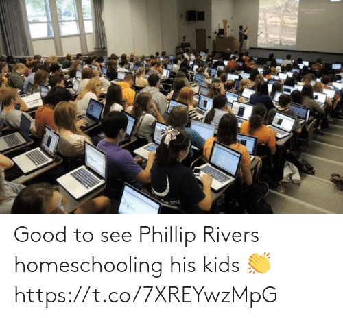 NFL: Good to see Phillip Rivers homeschooling his kids 👏 https://t.co/7XREYwzMpG