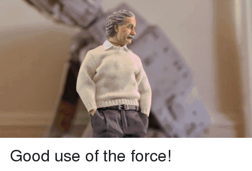Favorite Gif: Good use of the force!