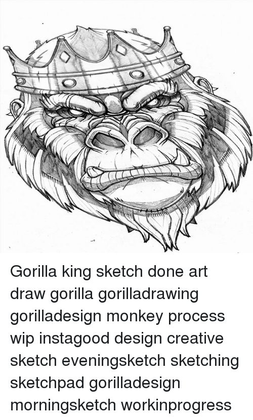 process of creating and processing gorilla