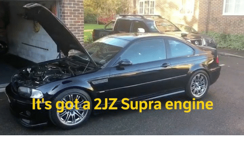 Cars, Gota, and Supra: gota 2JZ Supra engine