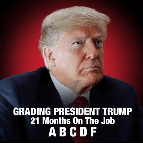 Abc, Trump, and Job: GRADING PRESIDENT TRUMP  21 Months On The Job  ABC DF