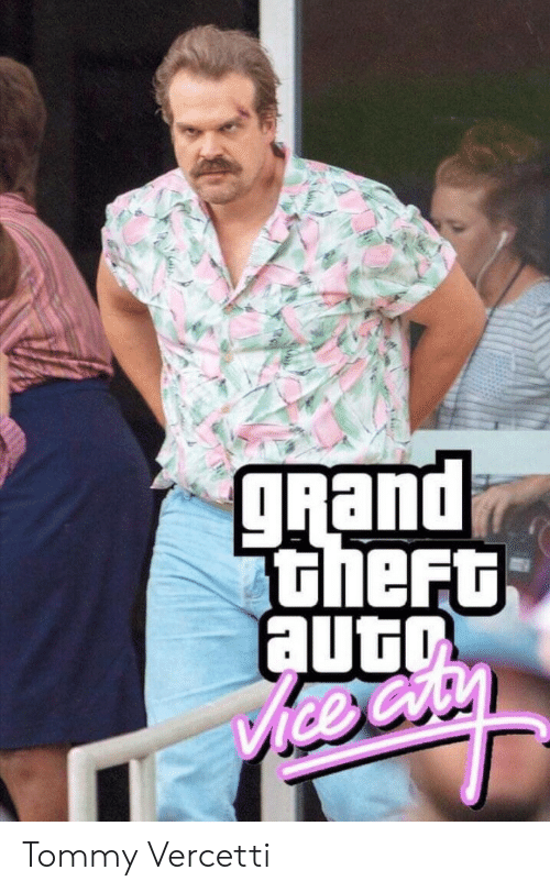 Theft: gRand  theFt  auto  ice Cry Tommy Vercetti