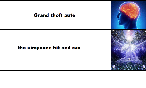 grand theft: Grand theft auto  the simpsons hit and run