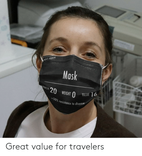 Value: Great value for travelers