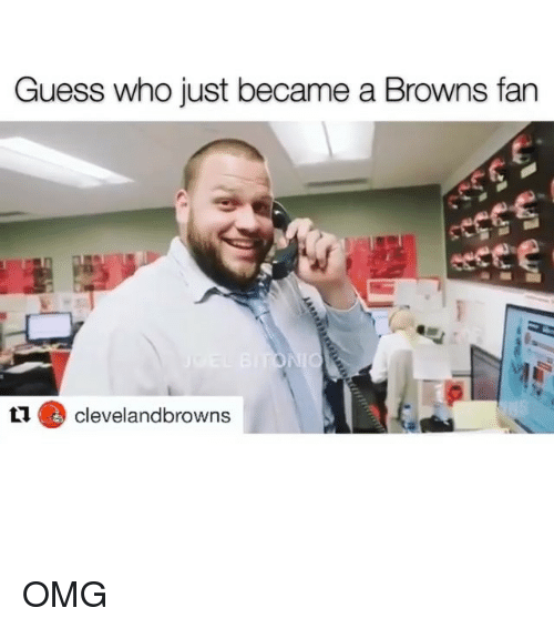 browns-fan: Guess who just became a Browns fan  levelandbrowns OMG