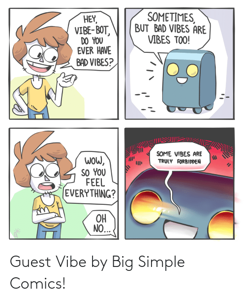 Comics: Guest Vibe by Big Simple Comics!
