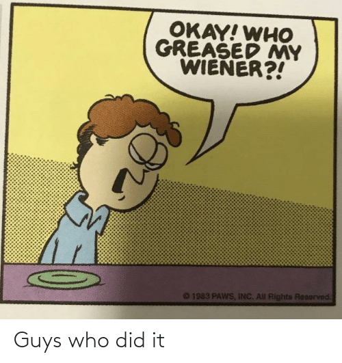 who: Guys who did it