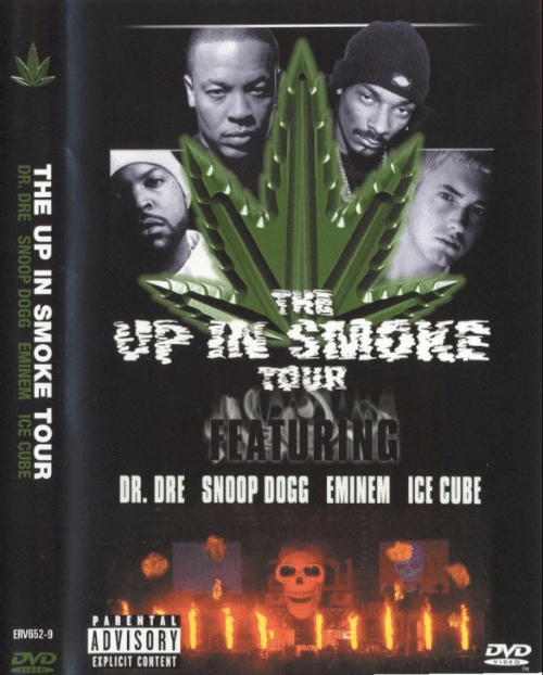 Ice Cube: HA  THE UP IN SMOKE TOUR  DR.DRE SNOOP DOGG EMINEM ICE CUBE