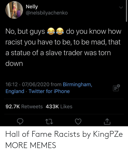 fame: Hall of Fame Racists by KingPZe MORE MEMES