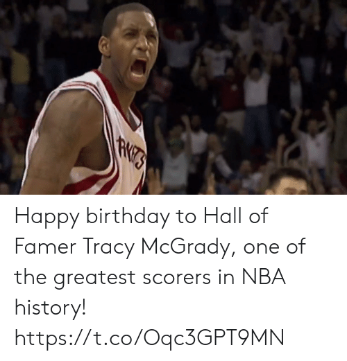 tracy: Happy birthday to Hall of Famer Tracy McGrady, one of the greatest scorers in NBA history! https://t.co/Oqc3GPT9MN