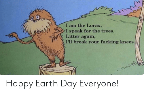 Earth: Happy Earth Day Everyone!