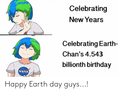 Earth Day: Happy Earth day guys...!