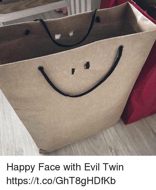 Evil Twin: Happy Face with Evil Twin https://t.co/GhT8gHDfKb