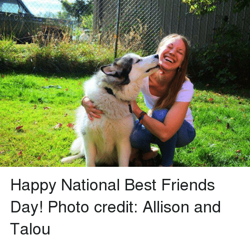 best friends day: Happy National Best Friends Day!   Photo credit: Allison and Talou