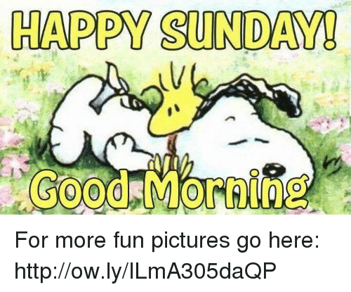 Happy Sunday Good Morning For More Fun Pictures Go Here 25879036 Happy  Sunday! Good Morning