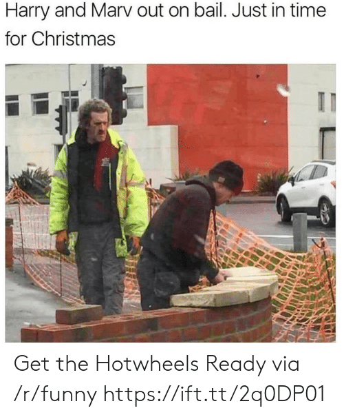 Christmas, Funny, and Time: Harry and Marv out on bail. Just in time  for Christmas Get the Hotwheels Ready via /r/funny https://ift.tt/2q0DP01