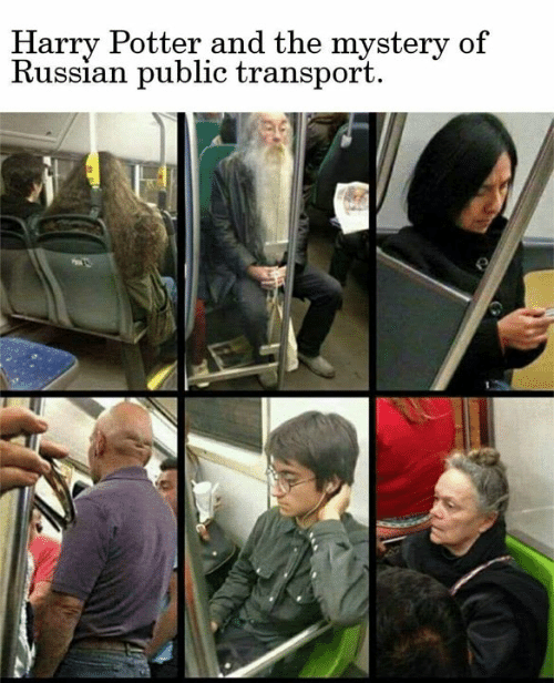 transport: Harry Potter and the mystery of  Russian public transport  02
