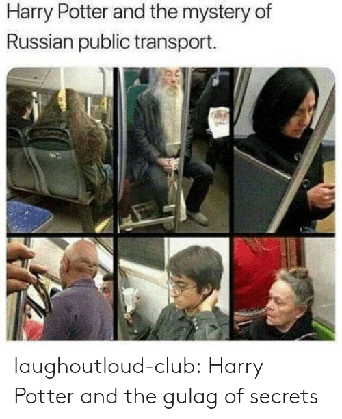 transport: Harry Potter and the mystery of  Russian public transport. laughoutloud-club:  Harry Potter and the gulag of secrets