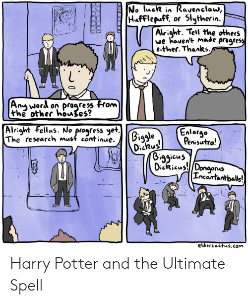 Ultimate: Harry Potter and the Ultimate Spell