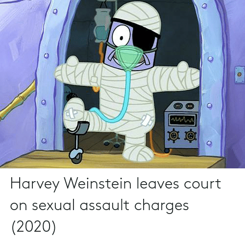 sexual assault: Harvey Weinstein leaves court on sexual assault charges (2020)