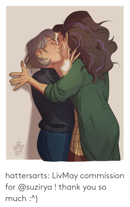 you-so-much: hattersarts:  LivMay commission for @suzirya ! thank you so much :^)