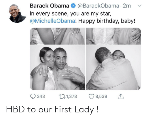 lady: HBD to our First Lady !