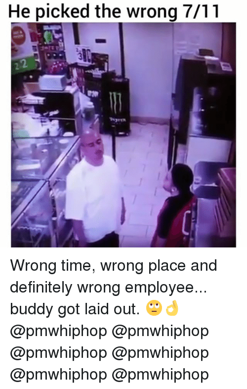 Got Laid: He picked the wrong 7/11 Wrong time, wrong place and definitely wrong employee... buddy got laid out. 🙄👌 @pmwhiphop @pmwhiphop @pmwhiphop @pmwhiphop @pmwhiphop @pmwhiphop