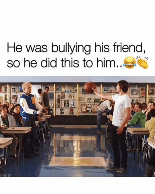 Memes, 🤖, and Him: He was bullying his friend,  so he did this to him.